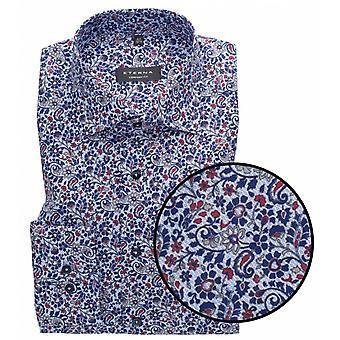 Eterna Mode Eterna Flower Print Formal Shirt