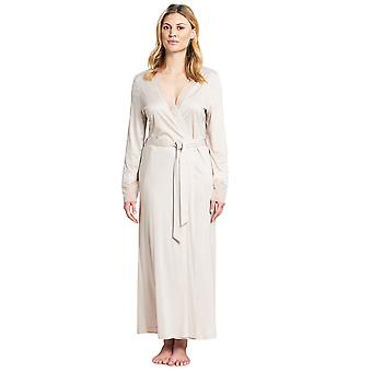 Feraud 3191099-10027 Dames's Couture Crème Off-White Modal Dressing Gown Loungewear Robe