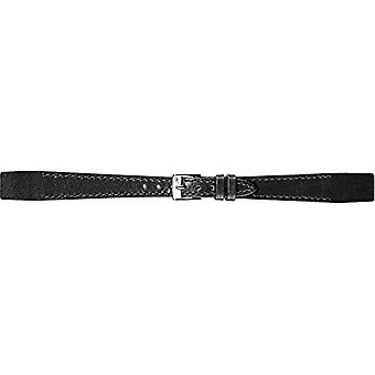 Morellato zwart lederen riem zwart 8 mm OPEN A01D2664403019CR10 vrouw