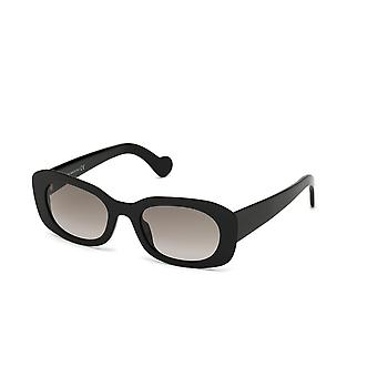 Moncler ML 0123 01B Shiny Black/Smoke Gradient Sunglasses