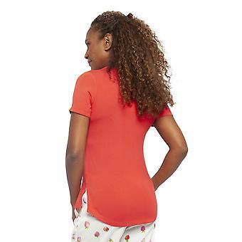 Cyberjammies 4458 Frauen's Sophia rot Modal stricken Pyjama Top