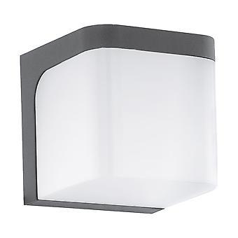 Eglo Jorba - LED Outdoor Wall Light Anthracite IP44 - EG96256