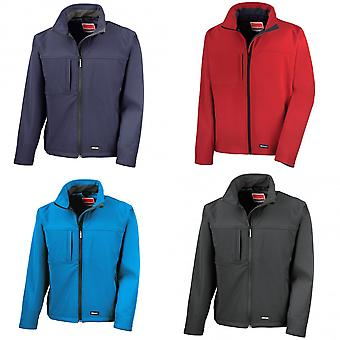 Result Mens Softshell Premium 3 Layer Performance Jacket (Waterproof, Windproof & Breathable)