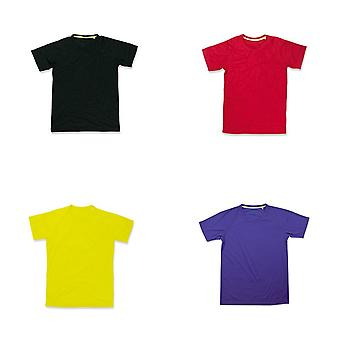 Stedman Mens Active Raglan Mesh T-Shirt