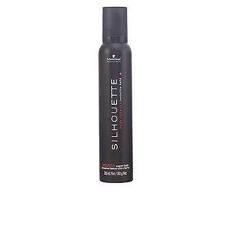 Schwarzkopf silhuet Mousse Super Hold 200 Ml Unisex