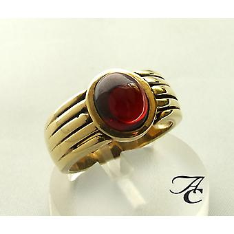 Atelier Christian gold ring with grenade