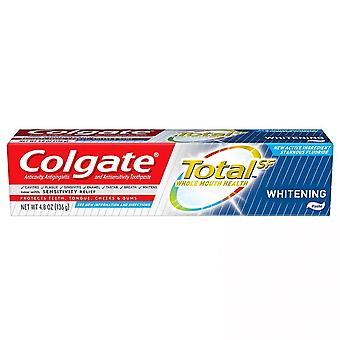 Colgate total whitening paste toothpaste, 4.8 oz
