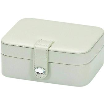 Mele Tina Misty Grey PU Small Jewellery Case Ideal For travel 5183