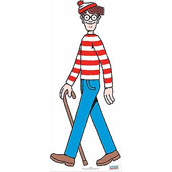 Where's Wally? / Waldo? Lifesize Cardboard Cutout / Standee / Stand Up