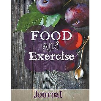 Food and Exercise Journal Jumbo SizeMore Room to Write Purple Plum Design by Journal & Healthy Diet