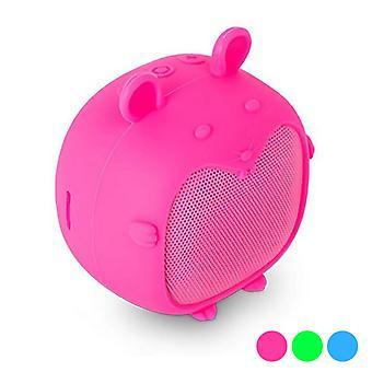 Portable Bluetooth Speakers SPC Sunet Pups 4420 3W/Roz