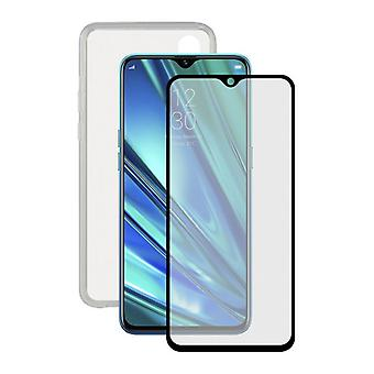 Tempered Glass Mobile Screen Protector  Mobile Case Realme 5 Contact