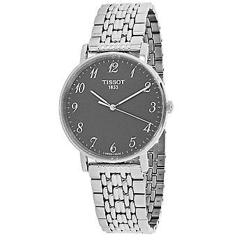 Tissot Men's T-Classic Graue Zifferblatt Uhr - T1094101107200