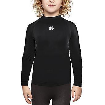 Children's Thermal T-shirt Sport Hg Eleven Black