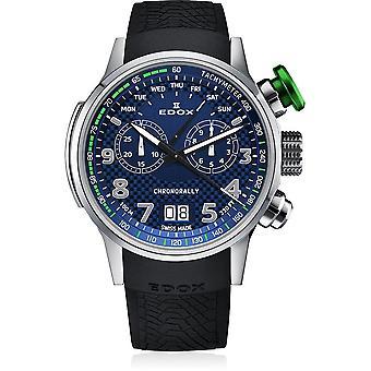 Edox - Wristwatch - Men - Chronorally - chronograph - 38001 TINV BUV3