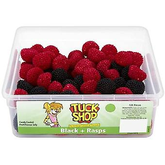 Tuck Shop Black & Rasps (120) 720g
