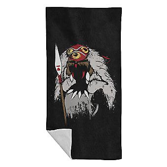 Princess Mononoke Princess Of The Forest Beach Towel