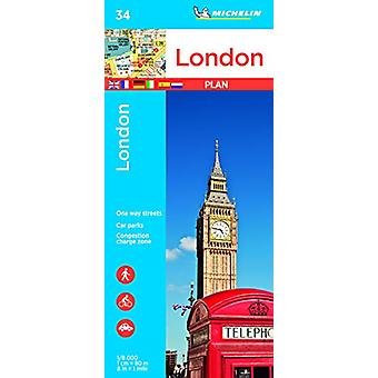 London - Michelin City Plan 34 - City Plans - 9782067236967 Book