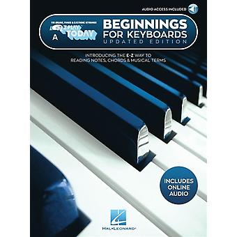 Beginnings for Keyboards  Includes Downloadable Audio by Hal Leonard Corp