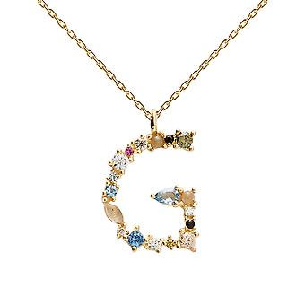Pdpaola Women's Letter G Plated Necklace