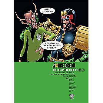 Judge Dredd Case Files 33 by John Wagner - 9781781086773 Book