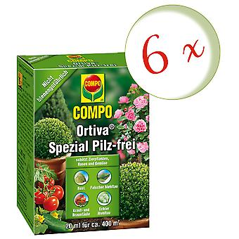 Sparset: 6 x COMPO Ortiva® Special Mushroom-Free, 20 ml