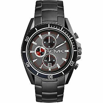Michael Kors MK8340 Grå Dial Gunmetal Ion Belagt Menn's Watch