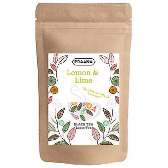 Praana Thee - Luxe zwarte thee met echte citroen en limoen stukken 500g