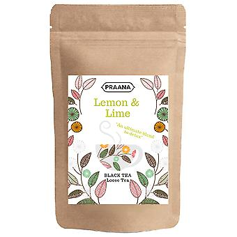 Praana Tea - Luxury Black Tea With Real Lemon And Lime Pieces 500g