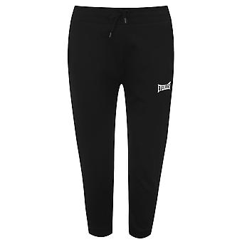 Everlast Womens 3/4 Sleeve Jogging Pants Elasticated Waistband Bottoms Trousers