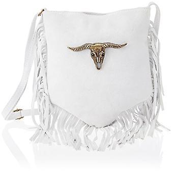 Chicca Bags 1518 White Women's Shoulder Bag 21x24x22cm (W x H x L)