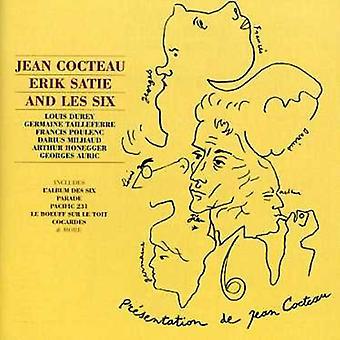 Cocteau Satie & Les Six - Jean Cocteau, Erik Satie and Les Six [CD] USA import