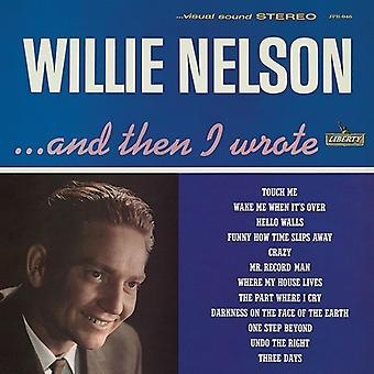 Nelson*Willie - ...and Then I Wrote [Vinyl] USA import