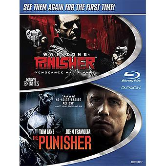 Punisher War Zone/Punisher [BLU-RAY] USA import