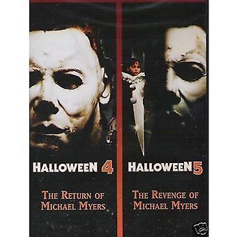 Halloween 4 & 5 [DVD] USA import