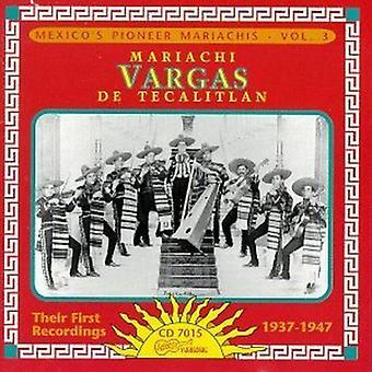 Mariachi Vargas De Tecalitlan - Their First Recordings 1937-47 [CD] USA import