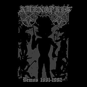 Amenophis - Demos 1991-1992 [CD] USA import