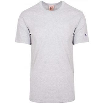 Champion Reverse Weave hellgrau Arm Logo T-Shirt