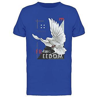 Freedom With Flying Dove Tee Men's -Imagen por Shutterstock