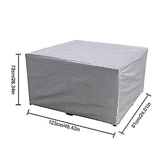 Furniture Table Chair Waterproof Dust Covers Rain Snow Chair Covers For Outdoor Garden Courtyard