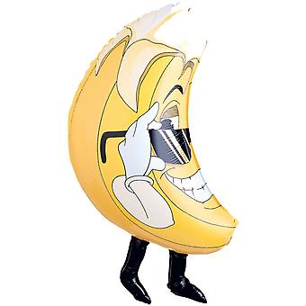 Oaktree Betallic 33 Inch Shape Banana Balloon
