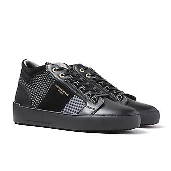 Android Homme Propulsion Mid Geo Czarne i szare buty sportowe