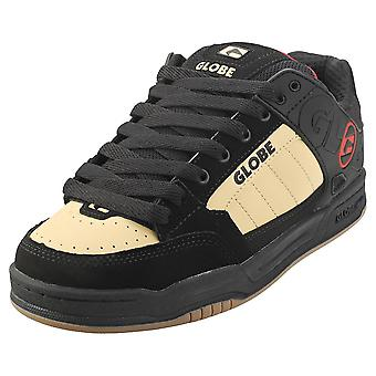 Globe Tilt Mens Skate Trainers in Black Khaki
