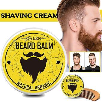 Natural Soft Shaving Cream Comb Set