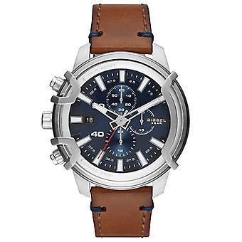 דיזל DZ4518 גברים חיוג אנלוגי כחול ' s שעון