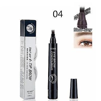 Vodotěsné tetování pero barva make-up na obočí - Microblading obočí tužka odstín