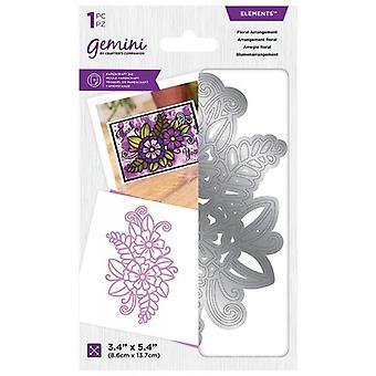 Gemini Floral Arrangement Elements Die