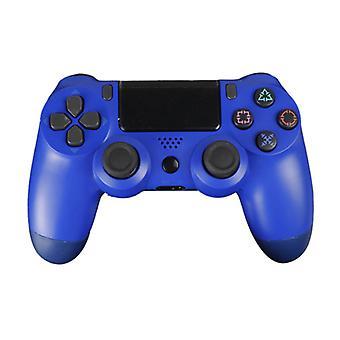 الاشياء المعتمدة® وحدة تحكم الألعاب لبلاي ستيشن 4 - PS4 بلوتوث غمبد مع الاهتزاز الأزرق