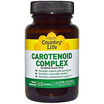 Country Life, Carotinoid-Komplex, 60 Softgels