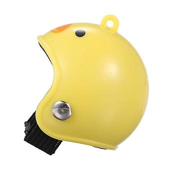 Pet Chicken Bird Helmet, Small Pet Hard Hat, Headgear Toy, Bird Protect Cap